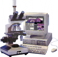 Microvision Systems Task Force Computerised Research Microscope